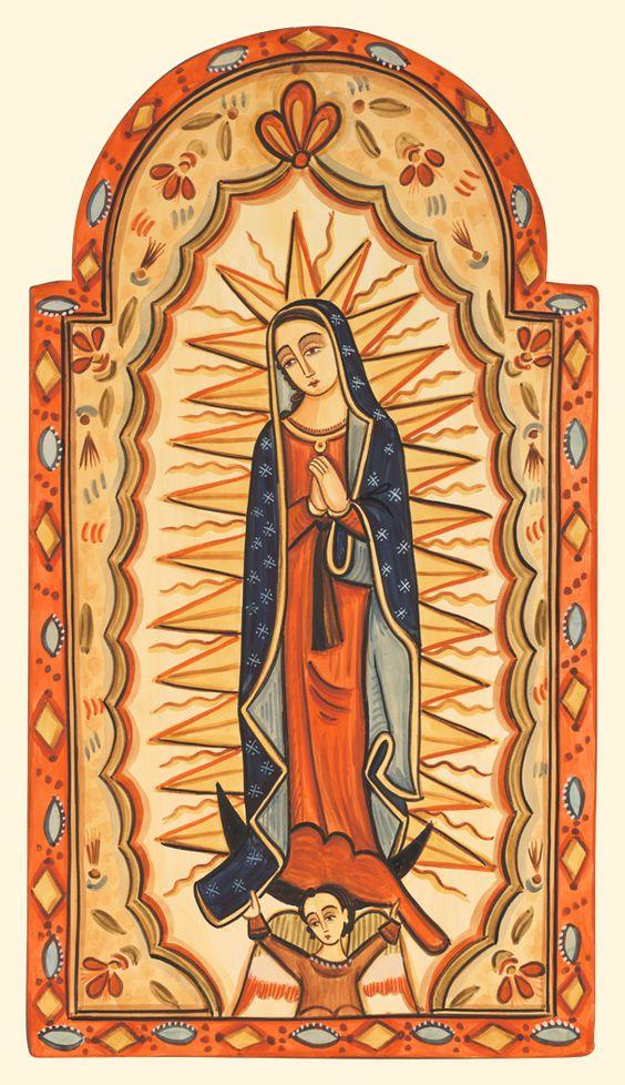 our lady of guadalupe | Our Lady of Guadalupe Print | Nicolas Otero Studios