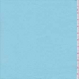 Aqua Blue Pique - 28267 - Fabric By The Yard At Discount Prices - $4.95