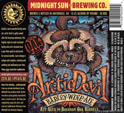 Midnight Sun - Oak Aged Arctic Devil Barleywine