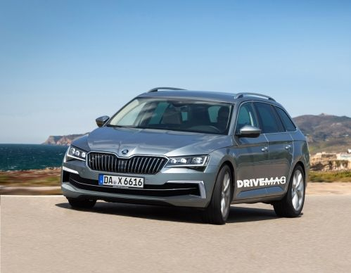 Skoda Superb Facelift First Renderings Liposuction Surgery Cars