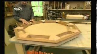 construir mesa poker - YouTube