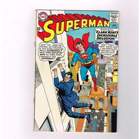 SUPERMAN (v1) #174 Silver Age find from DC guest starring Batman! Grade 8.0 http://www.ebay.com/itm/-/301332284325?roken=cUgayN&soutkn=Qmbnbk