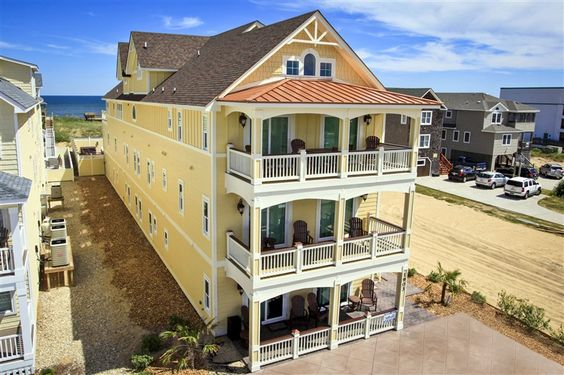 Grande paradise 227 l kill devil hills nc outer banks for Outdoor elevators for beach houses