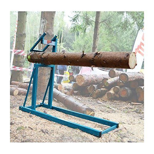 Use This Sawhorse By Makita To Get A Safe Grip On Your Logs When You Are Sawing Them The Model P 71691 Smart Holder Chainsaw Horse Sawhorse Chainsaw Wood Logs