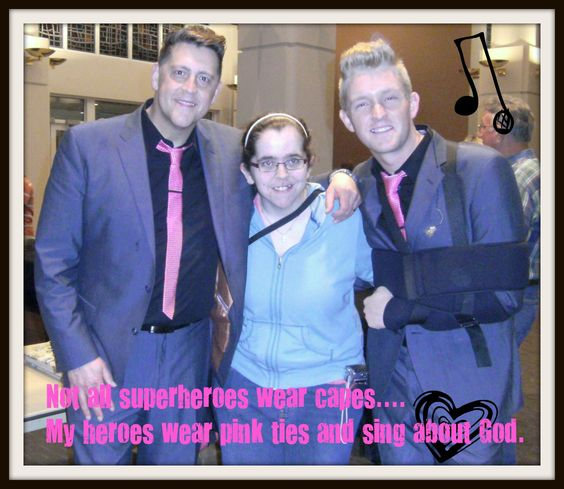Me and my heroes... Ernie Haase & Devin McGlamery March 16, 2012