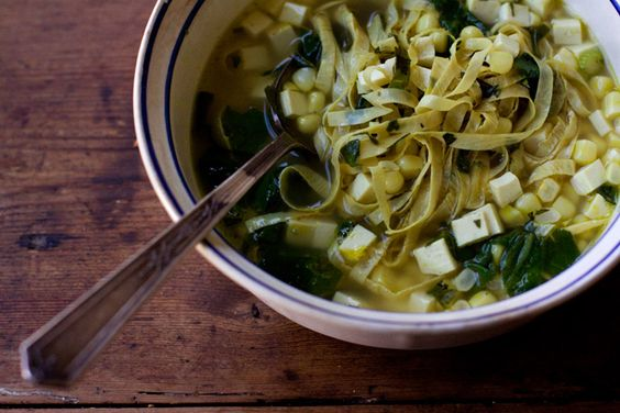Green Curry Broth - looks delicious!