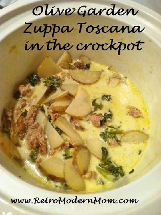 Olive Garden Zuppa Toscana Zuppa Toscana Soup And Toscana
