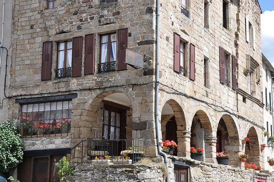 Pradelles, Haute Loire, Auvergne, France