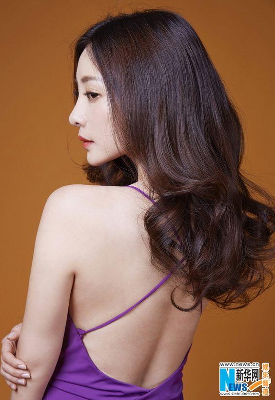Chinese actress and singer Liu Yan