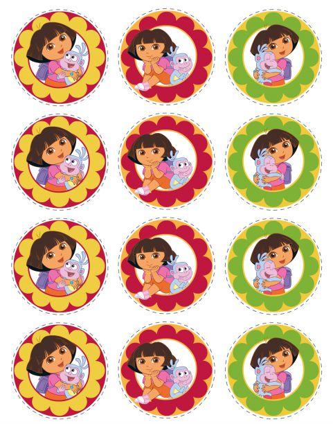 Imprimibles de Dora Exploradora.