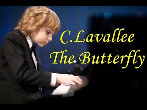 Lavallee The Butterfly Etude Le Papillon Elisey Mysin Youtube Butterfly Papillon Youtube