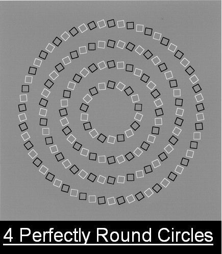 Does this illusion make your brain hurtView it larger for full effect