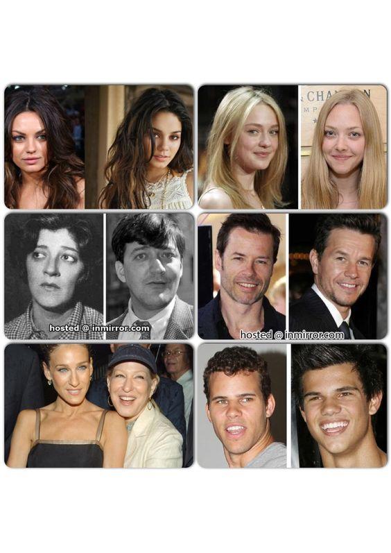 celebs that look alike: