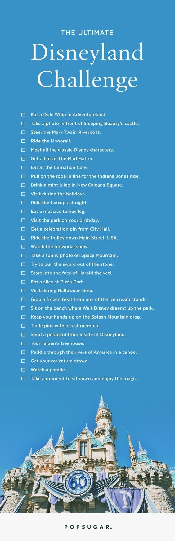 We have created your ultimate Disneyland bucket list so that you can get the most out of your trip to the most magical place on earth. Here are the can't-miss acitivities that are very necessary to check off your list.