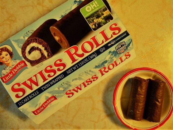 Little Debbie Swiss Roll