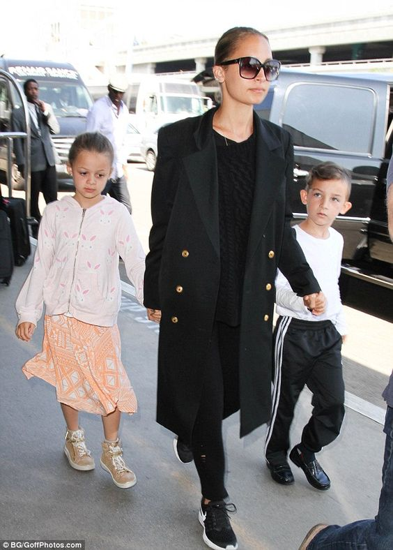 Namesake: The reality star and her husband Joel Madden have two children…