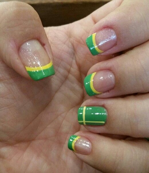 World Cup Nails Art. Mostra Tua Força Brazil!
