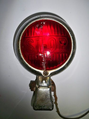 Vintage Stop Light NTD 402 Car Truck Hot Rod Motorcycle Police