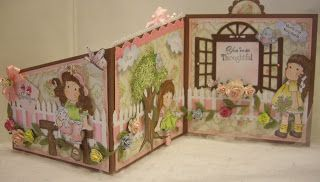 Sweeet Designs By Cheryl: Another Fun Fold Card ♥♥♥Thank you♥♥♥