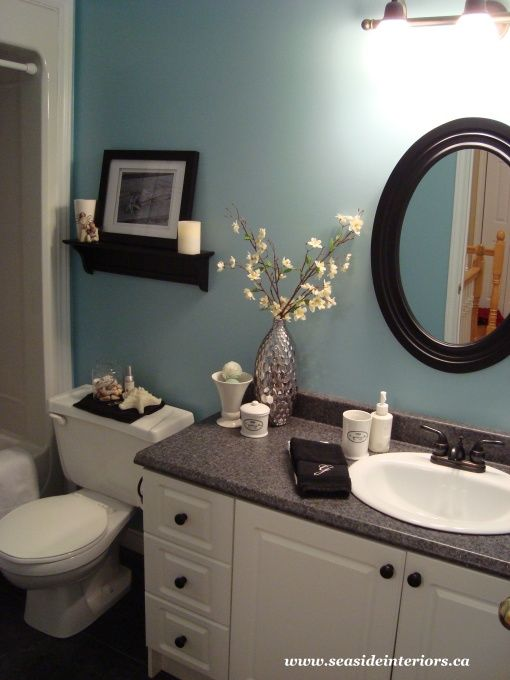 The Current Paint Color Is Tranquil Blue By Benjamin Moore