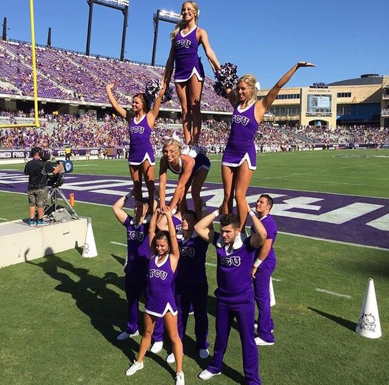 REPIN if you love cheerleading pyramids! For tons of stunting tips, check out CheerleadingInfoCenter.com