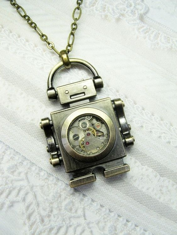 Steampunk Robot. Loved it. Bought it. It's on its way to my house!