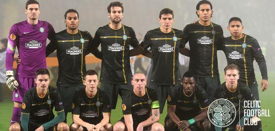 FC Astra v Celtic, November 6, 2014. Pre-match team photo