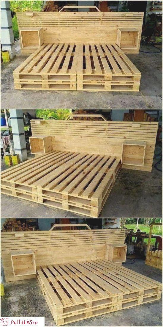Impressive 16 Diy Wooden Pallet Ideas And Projects Handmade Furniture Design Wood Furnitu In 2020 Wooden Pallet Projects Handmade Furniture Design Wooden Diy