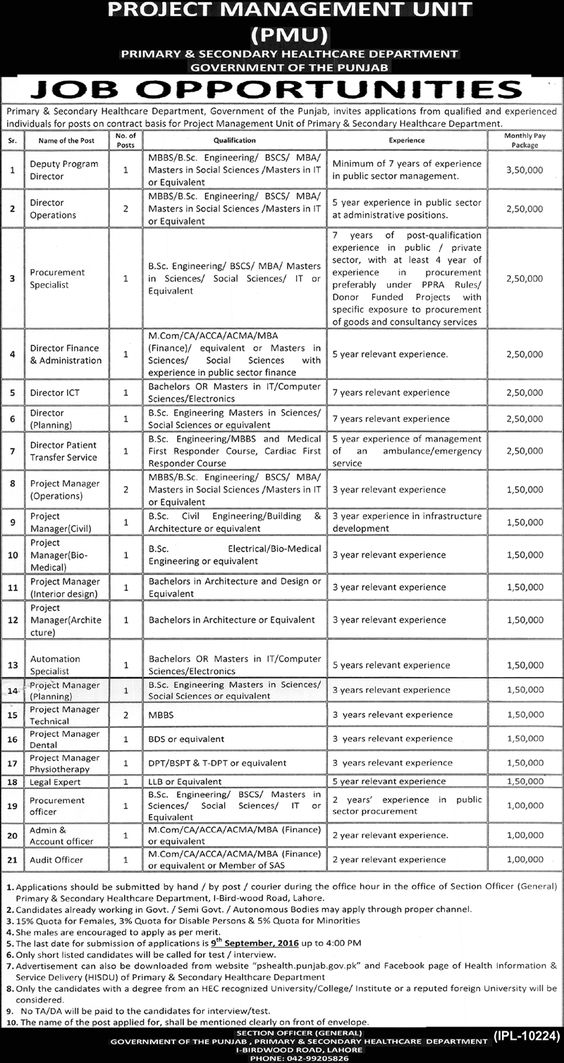 Job Opportunities Khairpur Medical College Advertisement date 14 - urban planner resume