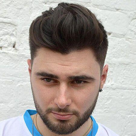 Các kiểu tóc hợp với mặt tròn nam giới