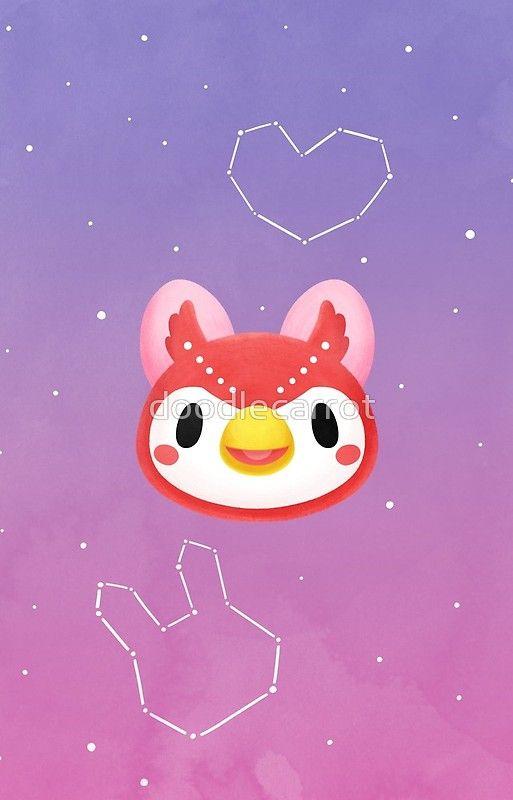 Celeste Animal Crossing Animal Crossing Fan Art Animal Crossing Characters Animal Crossing