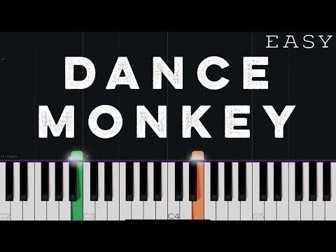 Tones And I Dance Monkey Easy Piano Tutorial Youtube In 2020 Easy Piano Piano Tutorial Piano Songs