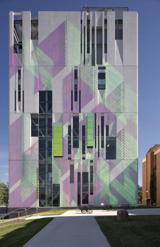 Architects plants and dichroic glass on pinterest for Ross architecture