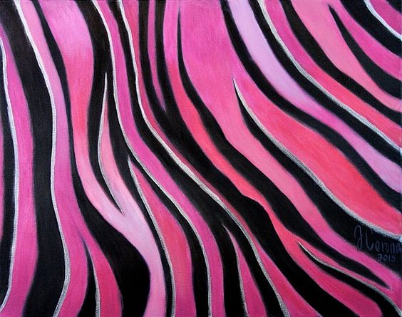 "Jose Corona: ""zebra print"" 16×20"" in oil on canvas painting."