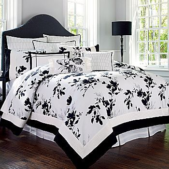 black and white bedroom ❤