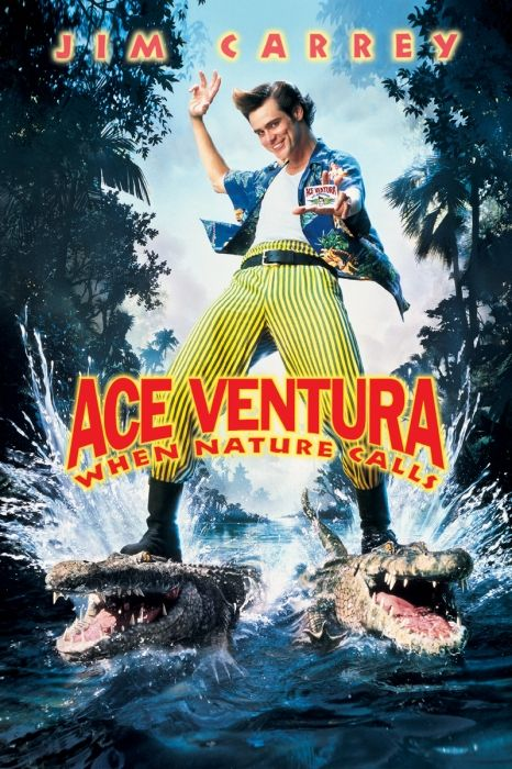 Ace Ventura: When Nature Calls Poster Artwork - Bob Gunton, Simon Callow, Ian McNeice - http://www.movie-poster-artwork-finder.com/ace-ventura-when-nature-calls-poster-artwork-bob-gunton-simon-callow-ian-mcneice/