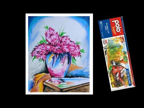 How To Draw Oil Pastel Color Drawing For Flower Pot Easy Flower Pot Drawing Very Easy Youtube In 2020 Oil Pastel Colorful Drawings Oil Pastel Art