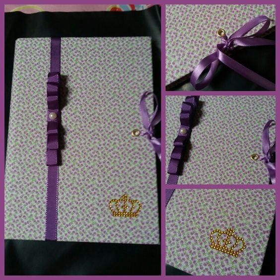 Caderno personalizado...
