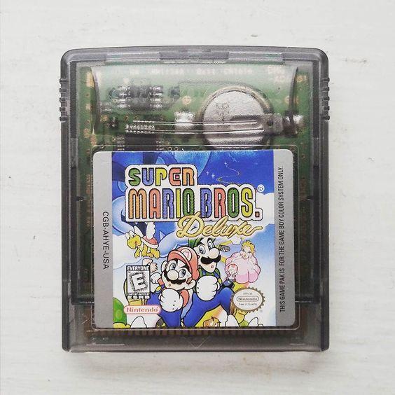 On instagram by mariosvintagecollectibles #retrogames #microhobbit (o) http://ift.tt/1SG3SD3 mario bros deluxe for #gameboy color #gameboycolor $16 shipped (usa only) #supermario #supermariobros #videogamesforsale #videogamecollection #gamecollection #retrovideogames  #vintagegames