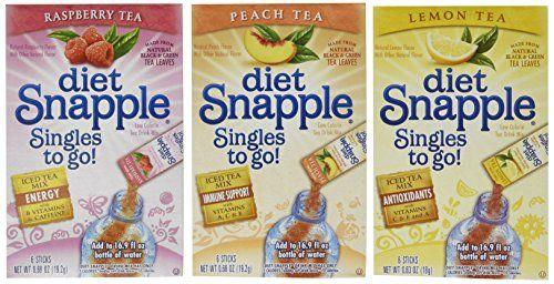 Mixed Variety Diet Snapple Sugar Free Sale Tea Shop Buymorecoffee Com Diet Snapple Sugar Free Drinks Tea Diet