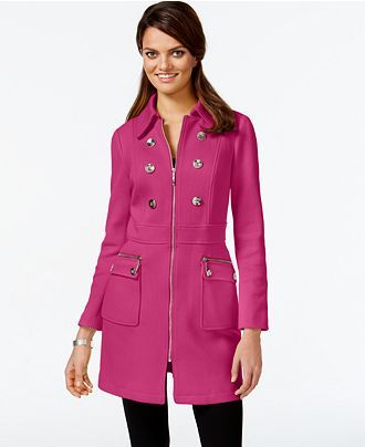 INC International Concepts Embellished Trench Coat, Only at Macy's - INC International Concepts - Women - Macy's