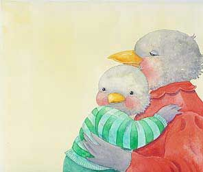 Original illustration by Jane Dyer from Oh My Baby Little One | R. Michelson Galleries