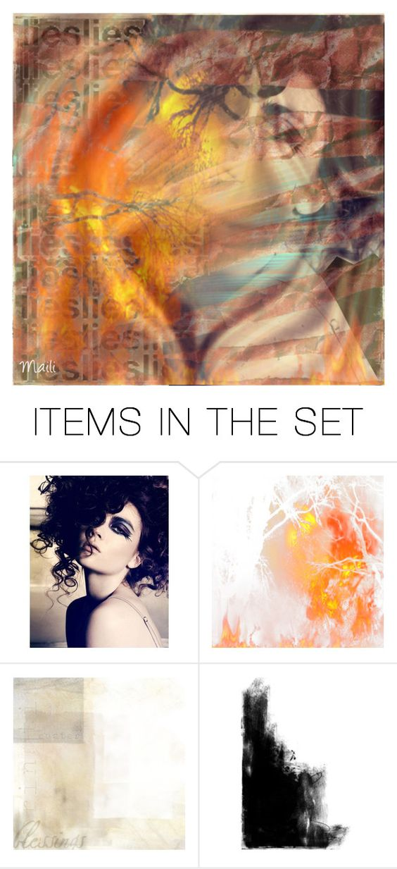 """""""Inside the fire."""" by darkenedseptember ❤ liked on Polyvore featuring art"""