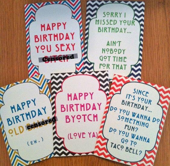 Mature Funny Birthday Cards meangirls aintnobodygottimeforthat – Dirty Funny Birthday Cards