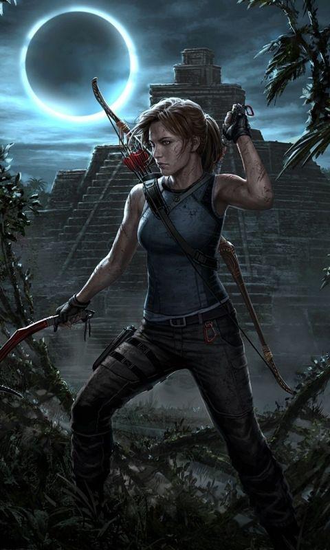 Shadow Of The Tomb Raider Archer Lara Croft Video Game 480x800 Wallpaper Tomb Raider Game Tomb Raider Tomb Raider Wallpaper