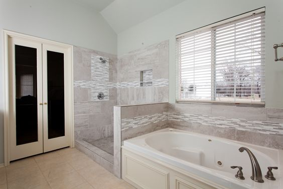An inspiring bathroom remodeling project from ProSource of Oklahoma City (OK).