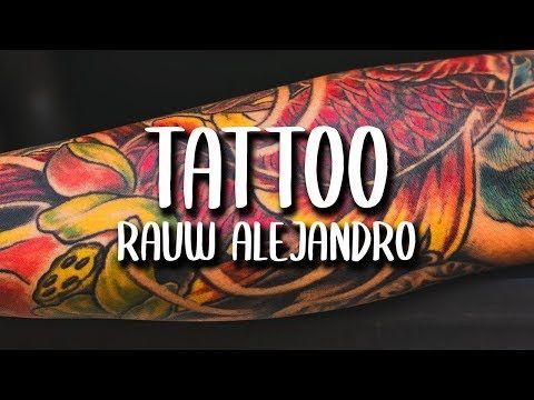 Rauw Alejandro Tattoo Letra Lyrics Youtube In 2020 Song Tattoos Lyrics Tattoo Health Se que muchos estaban esperando este momento tanto como yo (? rauw alejandro tattoo letra lyrics