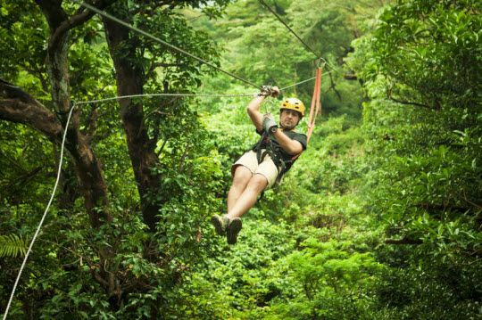 Zip Lining in Puerto Rico!!! Next Month!!!!