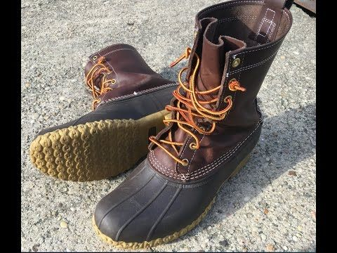 1) LL Bean Boot Review - YouTube   Ll