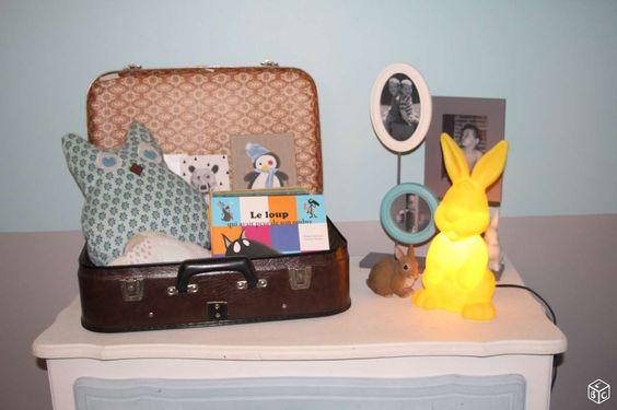 Lampe, veilleuse lapin jaune IGOR PARIS Décoration Haute-Garonne - leboncoin.fr